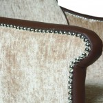 7 City Chair stud detail